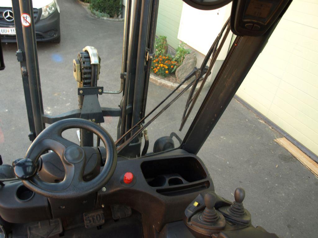 Linde E16P-01 Elektro 4 Rad-Stapler www.gabelstaplerservice.at