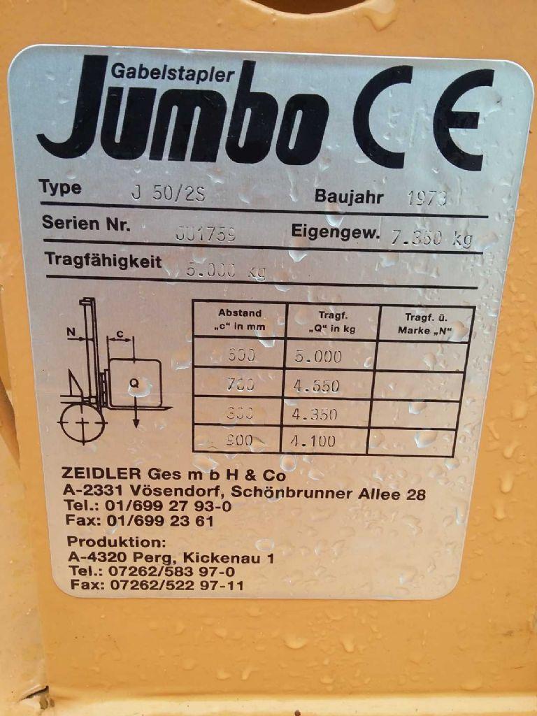 Jumbo J50/2S Dieselstapler www.gabelstaplerservice.at