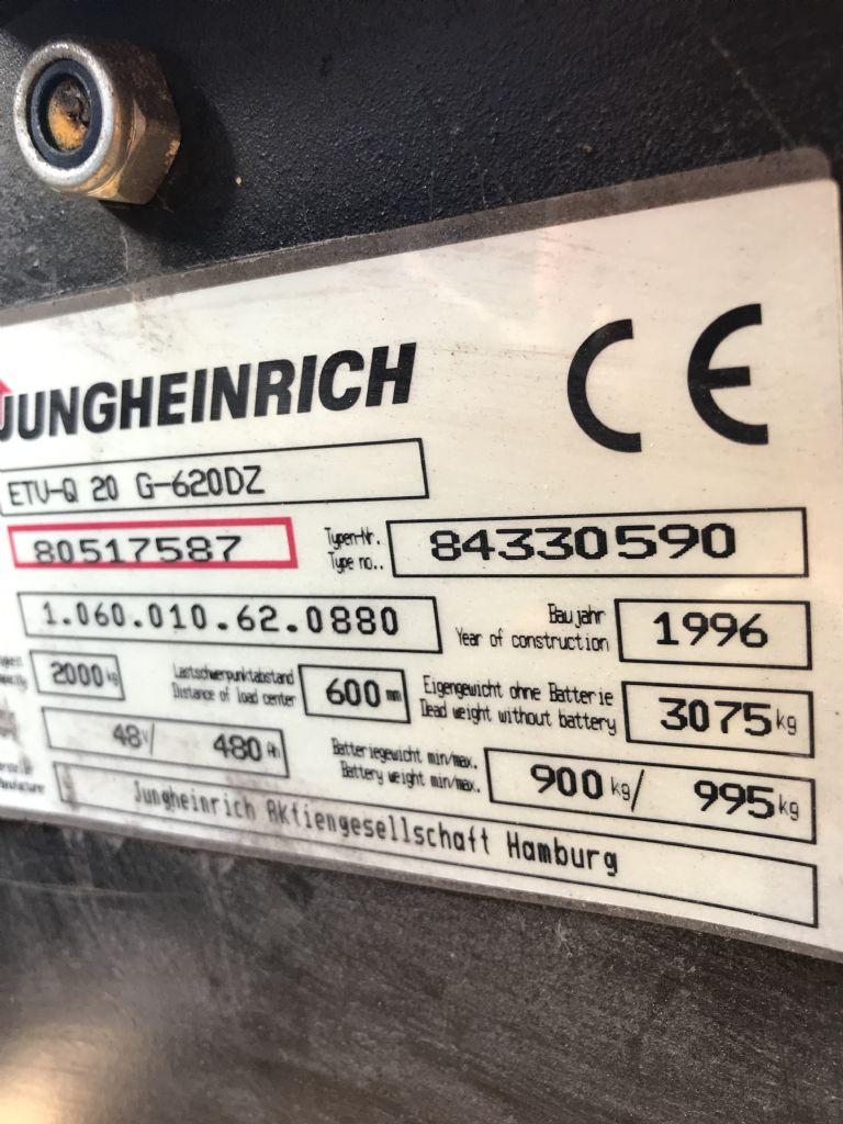Jungheinrich ETVQ20 Vierwege Schubmaststapler www.gabelstapler-heckert.de