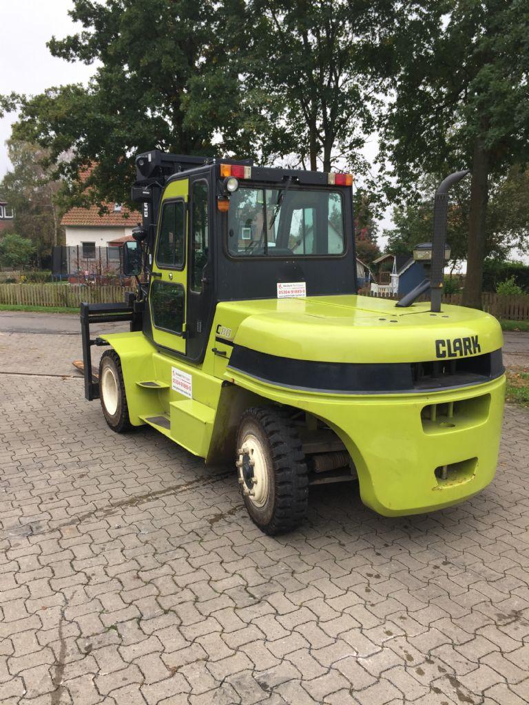 Clark C80D - Vorführstapler Dieselstapler www.gabelstapler-heckert.de