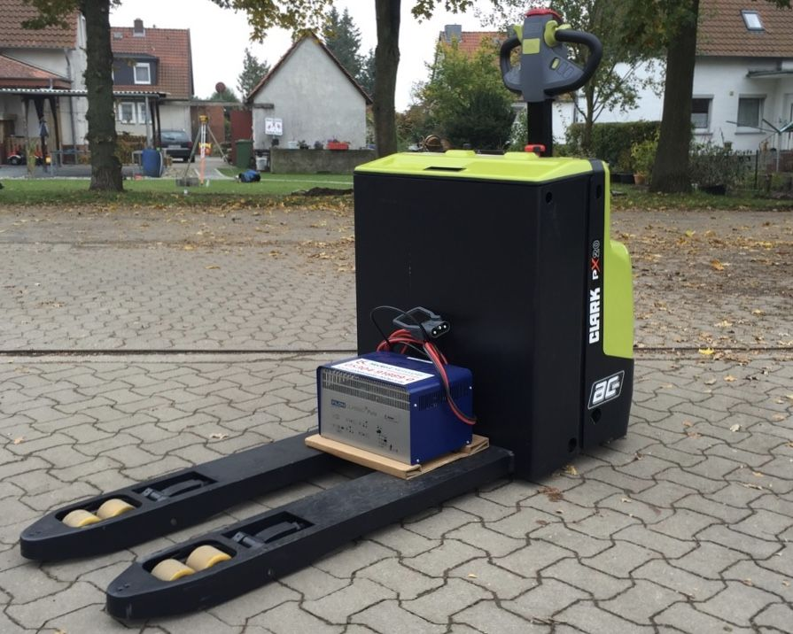 Clark PX20 - Vorführgerät! Niederhubwagen www.gabelstapler-heckert.de