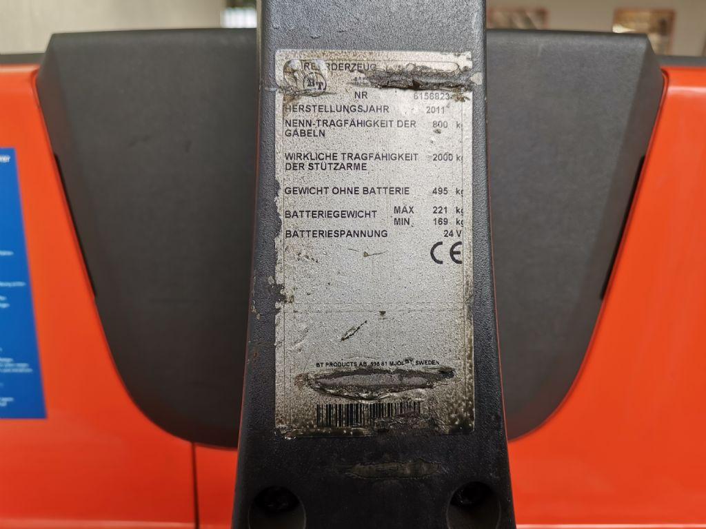 BT SWE080L Deichselstapler www.heinbockel-gabelstapler.de
