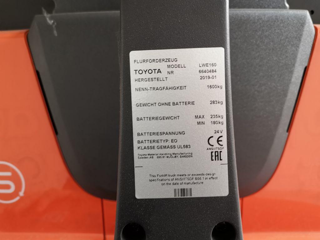BT LWE160 Niederhubwagen www.heinbockel-gabelstapler.de