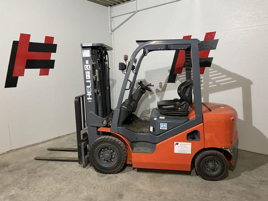 Heli CPCD25WS1H Dieselstapler www.heinbockel-gabelstapler.de