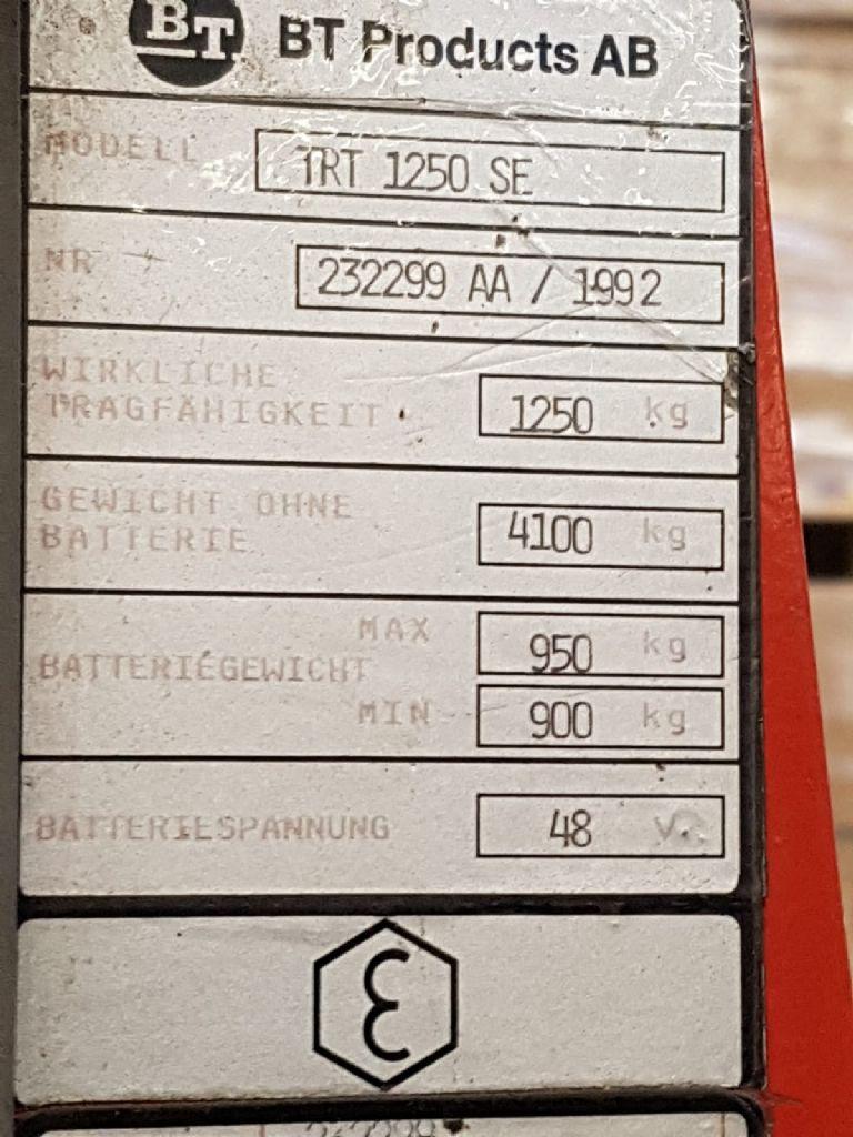 BT TRT1250SE Schubmaststapler www.heinbockel-gabelstapler.de