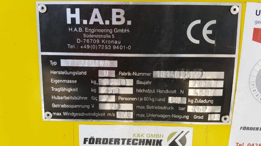 HAB T16 J D4WD Teleskoparbeitsbühne www.heinbockel-gabelstapler.de