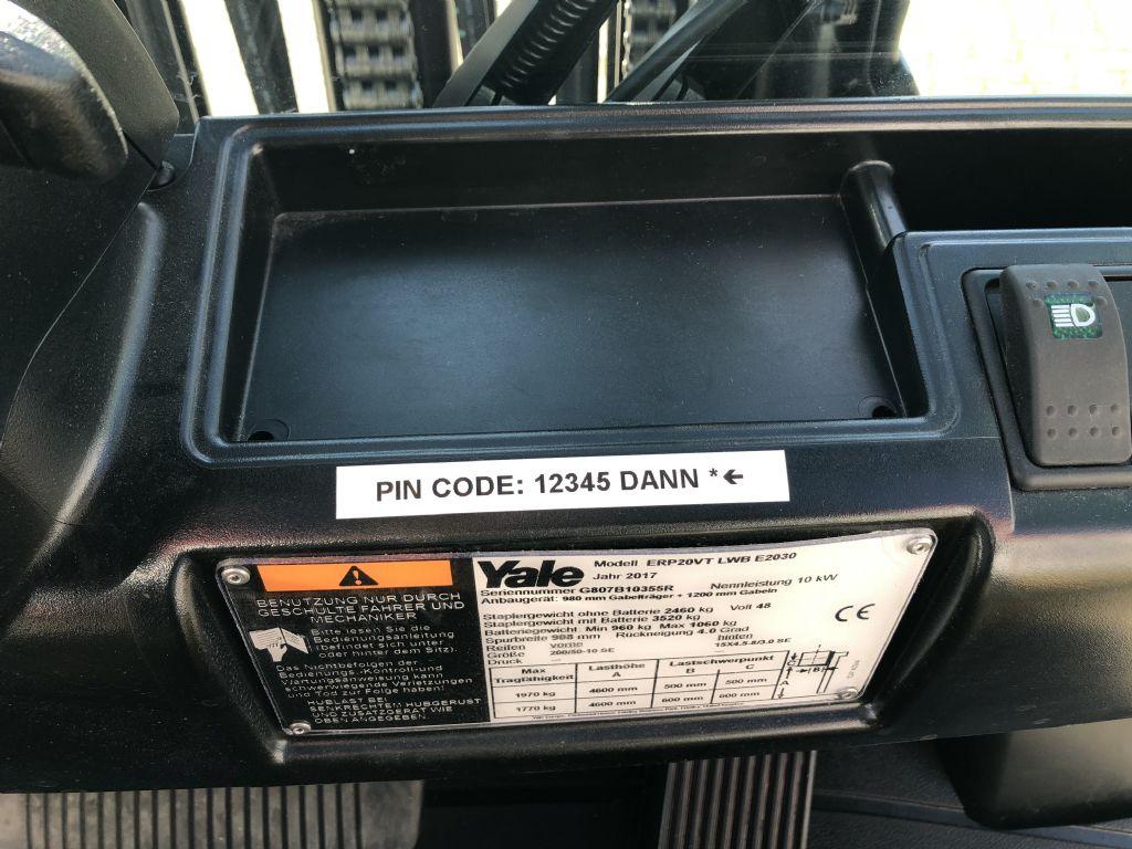 Yale-ERP20VT LWB-Elektro 3 Rad-Stapler-www.herbst-gabelstapler.de