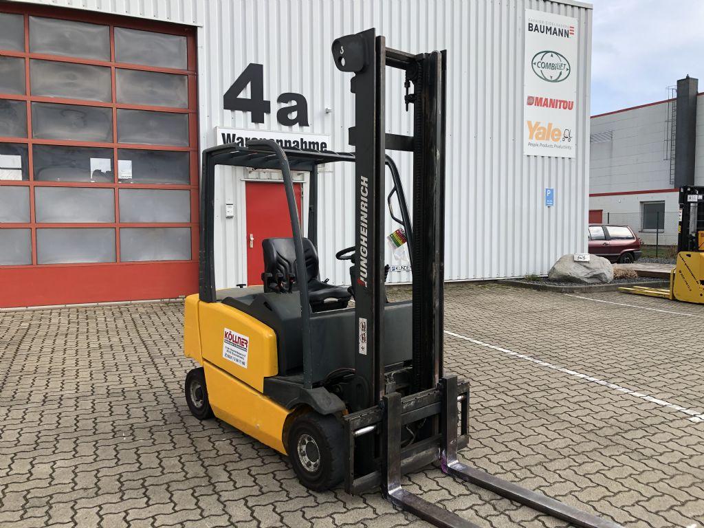 Jungheinrich-EFG-Vac 16 SP GE 100-400 ZT-Elektro 4 Rad-Stapler-www.herbst-gabelstapler.de