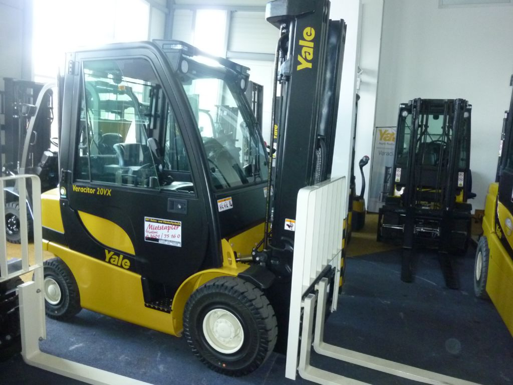 Yale GDP 20 VX Dieselstapler www.staplerservice.de