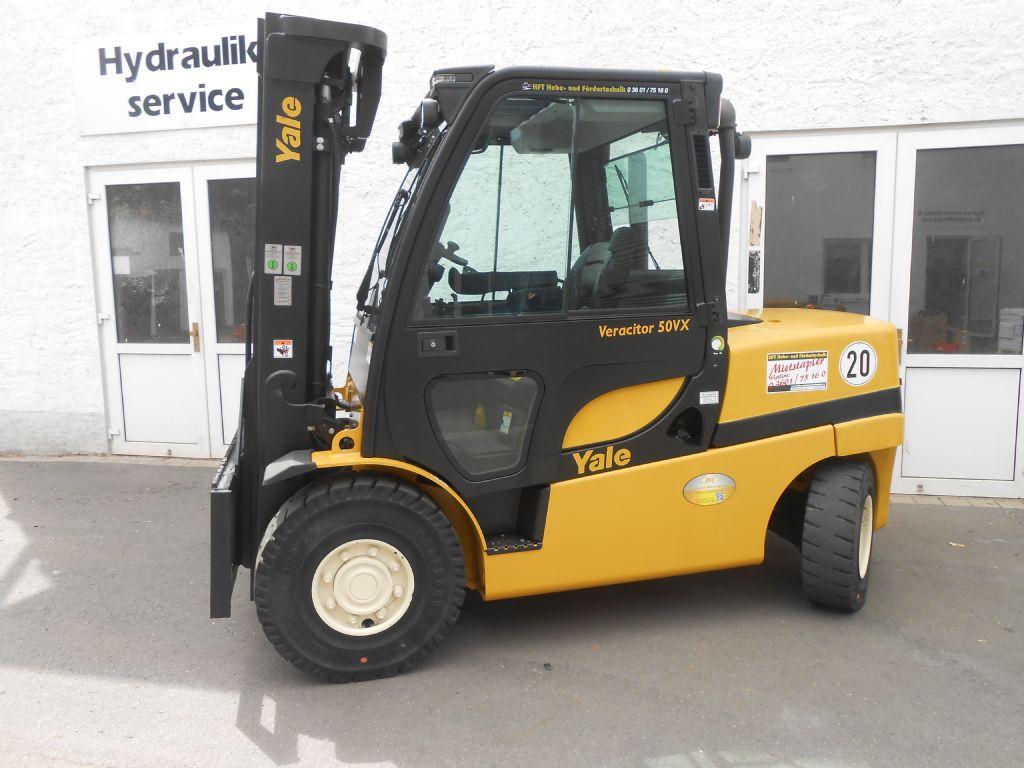 Yale-GDP 50 VX PRODUCTIVI-Dieselstapler http://www.hft-gmbh.de