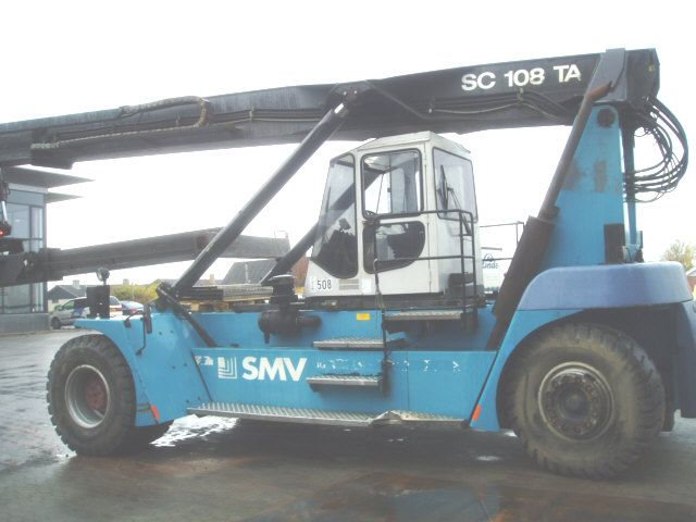 SC108TA Empty Container Reachstacker