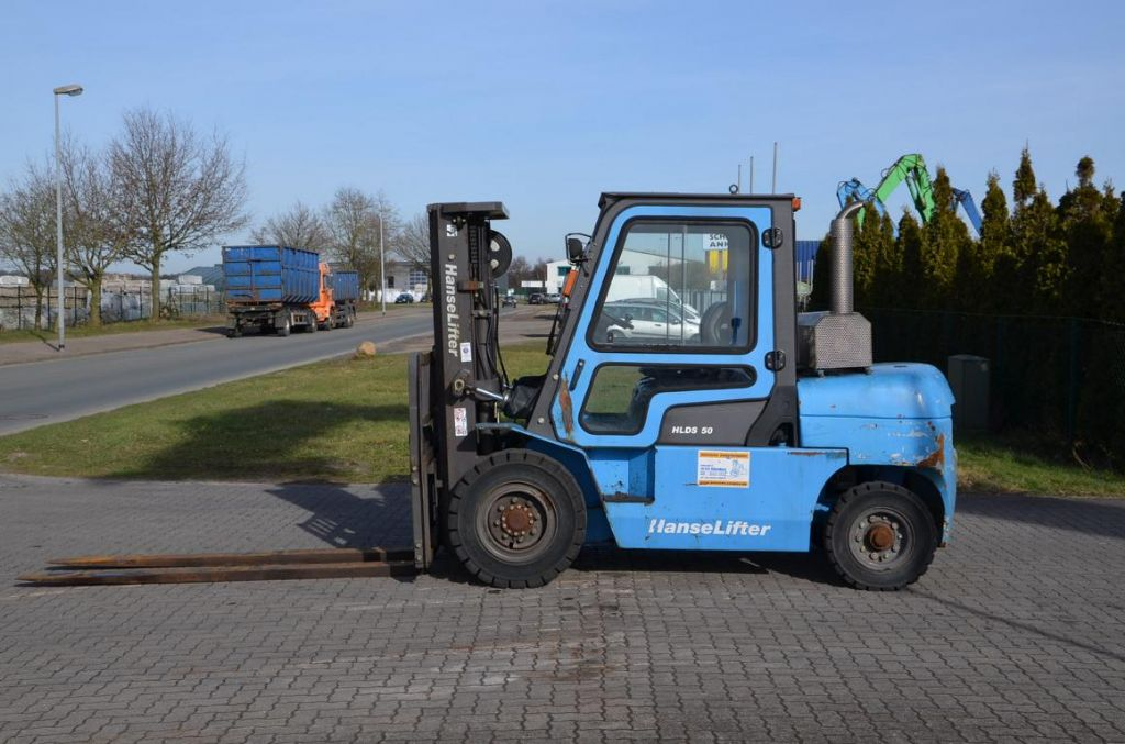Hanselifter HLDS5045TH Diesel Forklift www.hinrichs-forklifts.com