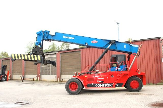 Fantuzzi CS7,5-S6 Empty Container Reachstacker www.hinrichs-forklifts.com