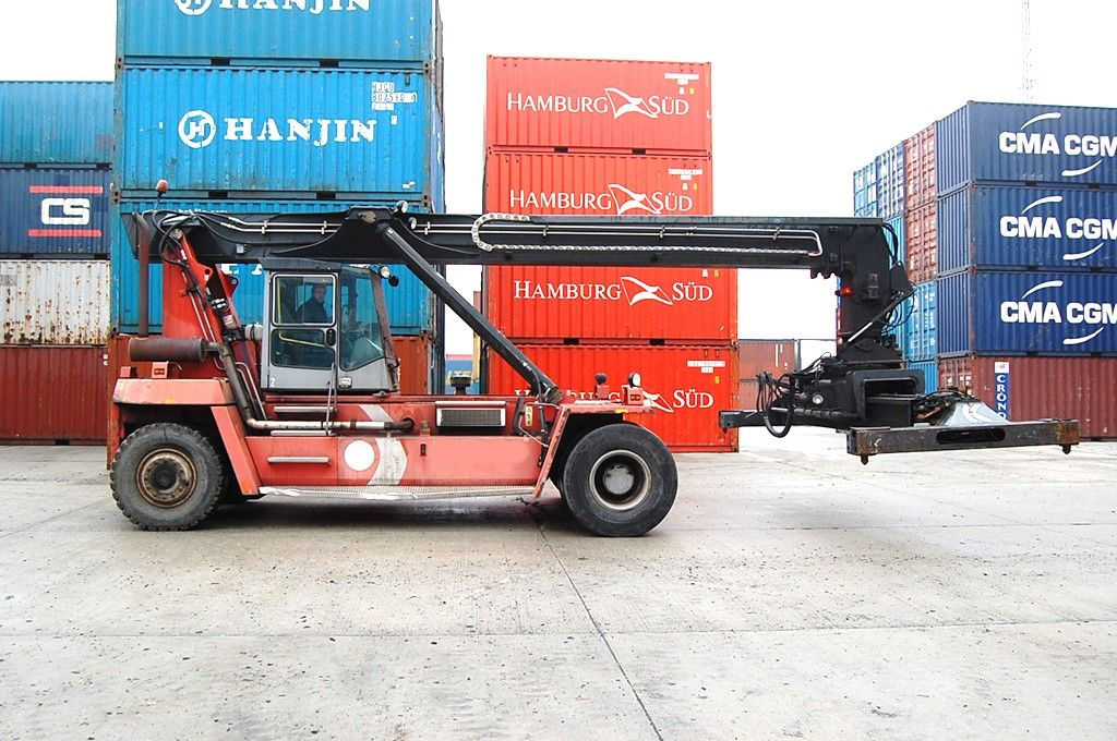Kalmar DRD100-52-S6 Empty Container Reachstacker