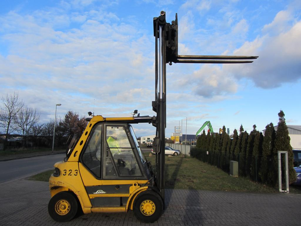 Linde H60D Diesel Forklift