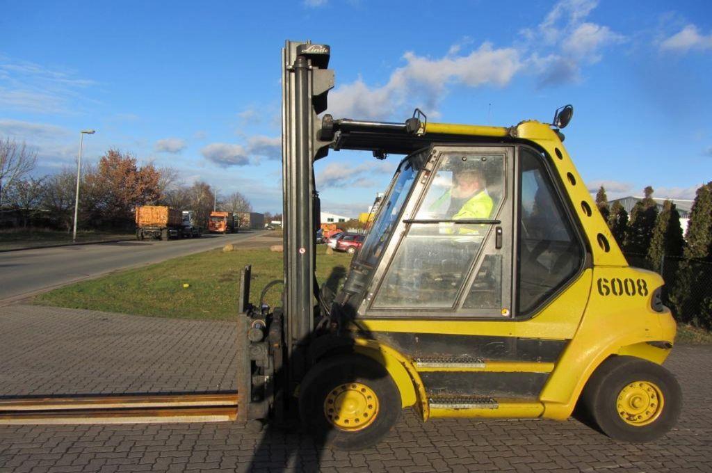 Linde H60D Diesel Forklift www.hinrichs-forklifts.com