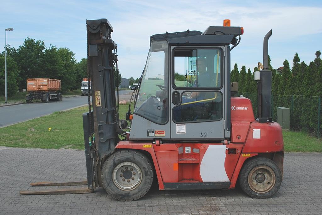 Kalmar DCE55-6HMS Diesel Forklift www.hinrichs-forklifts.com
