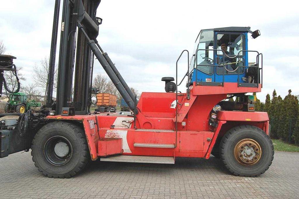 Kalmar DCE90-45E7 Empty Container Handler www.hinrichs-forklifts.com