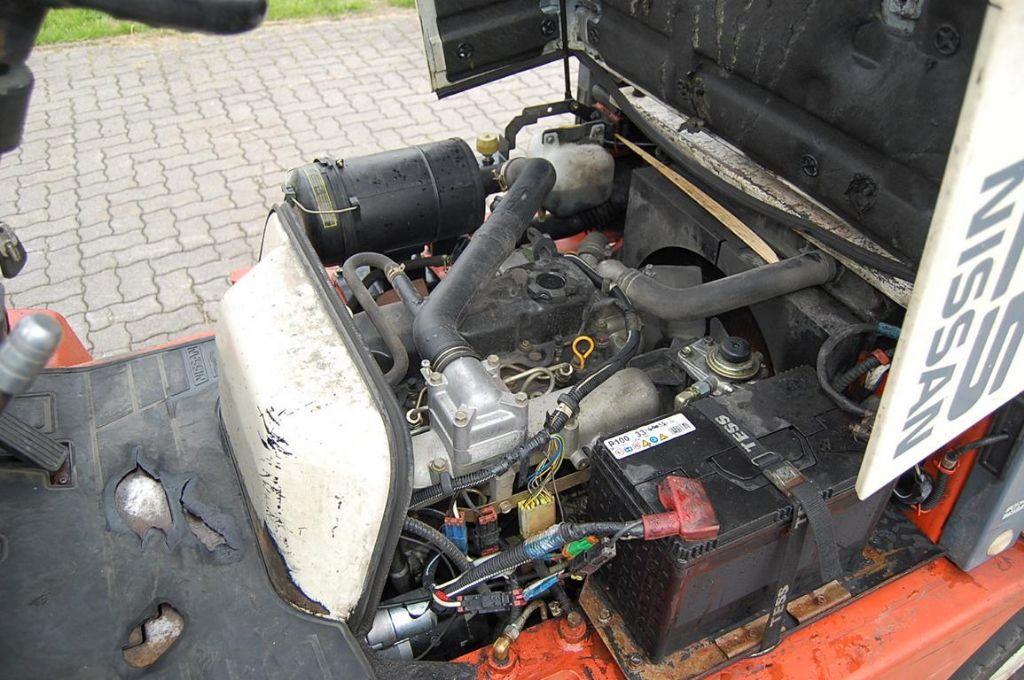 Nissan FJ02A25U Diesel Forklift