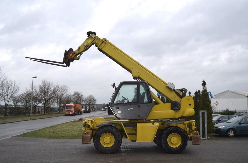 Manitou MRT1850 ROTO 4x4 Telehandler rotating www.hinrichs-forklifts.com