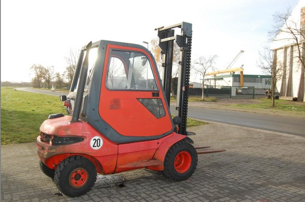 Linde H25D Diesel Forklift www.hinrichs-forklifts.com