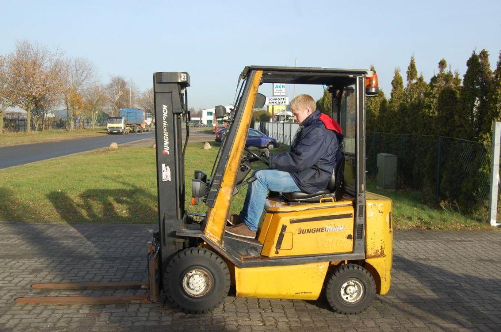Jungheinrich DFG16AF Diesel Forklift www.hinrichs-forklifts.com