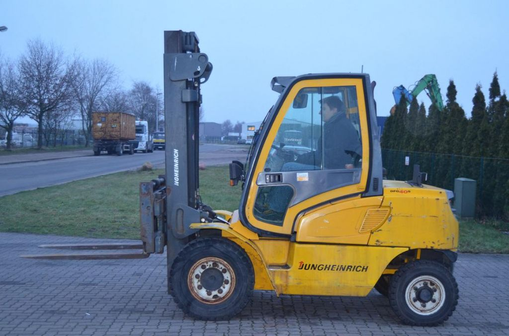 Diesel Gabelstapler-Jungheinrich-DFG40