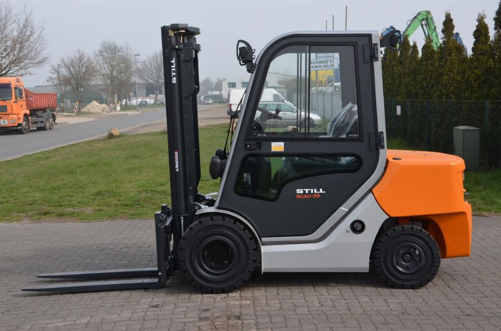 Still RC40-35 Diesel Forklift www.hinrichs-forklifts.com