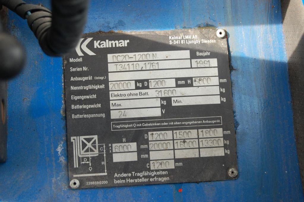 Kalmar DC20-1200N Heavy Forklifts