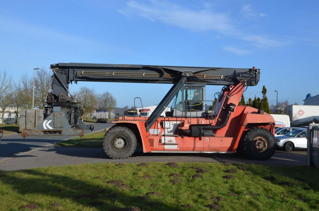 Kalmar DRF420-65S5 Full-container reach stacker www.hinrichs-forklifts.com