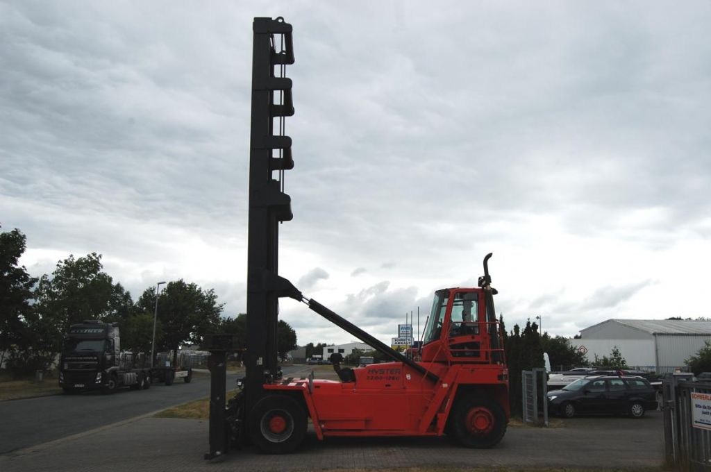 Hyster 22.00XM-12EC Empty Container Handler www.hinrichs-forklifts.com