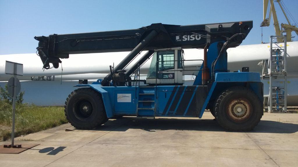 Sisu RSD4531-5CH Full-container reach stacker