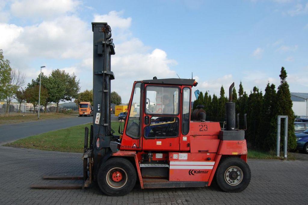 Kalmar DCD80-6 Diesel Forklift www.hinrichs-forklifts.com