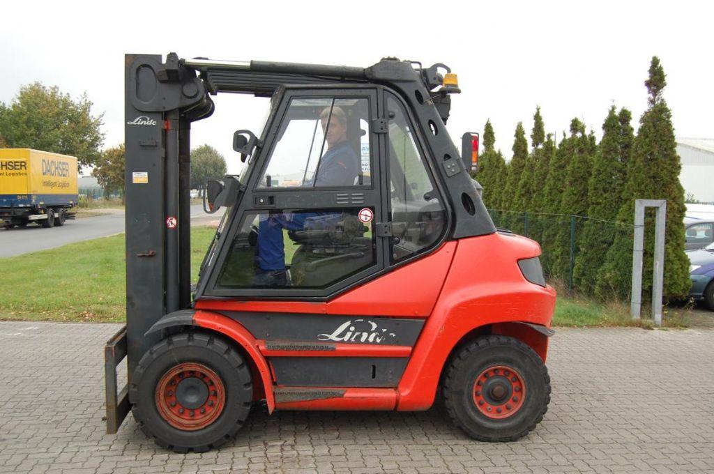 Linde H80D Diesel Forklift www.hinrichs-forklifts.com