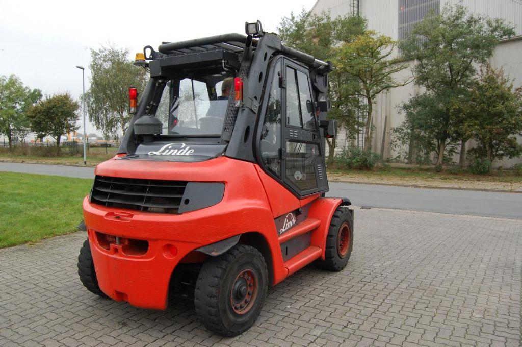 Linde H80D Diesel Forklift