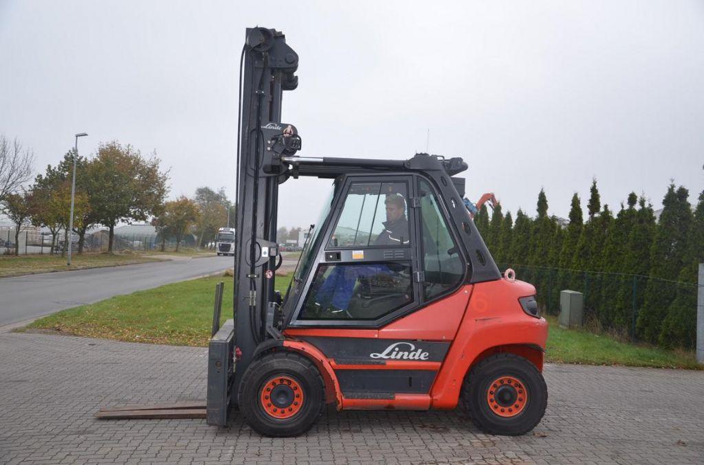 Linde H70D Diesel Forklift www.hinrichs-forklifts.com