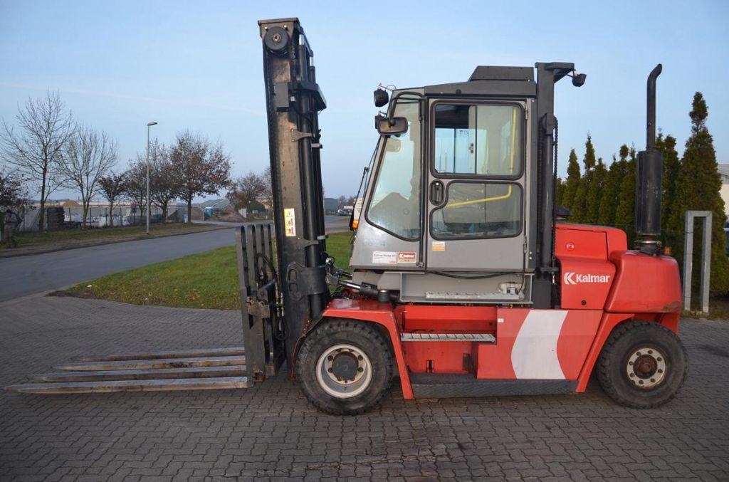 Kalmar DCE80-6HE Diesel Forklift www.hinrichs-forklifts.com