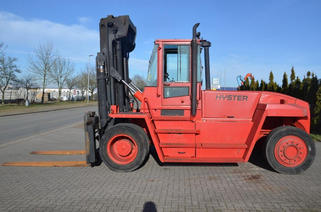 Hyster H16.00XM-12 Heavy Forklifts www.hinrichs-forklifts.com
