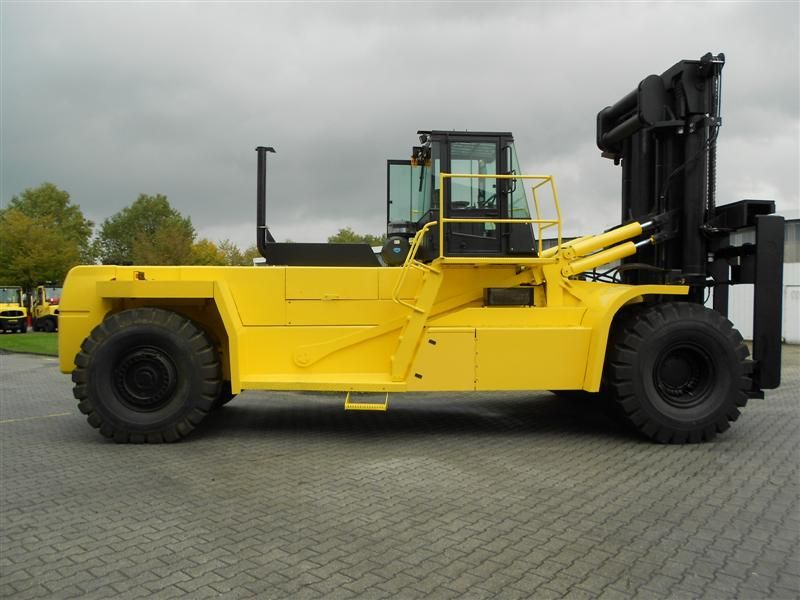 Hyster H52.00E Heavy Forklifts www.hinrichs-forklifts.com