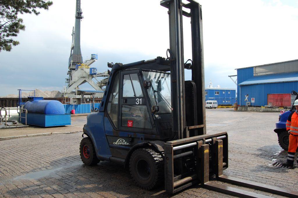 Linde H80D-900/03 Diesel Forklift www.hinrichs-forklifts.com