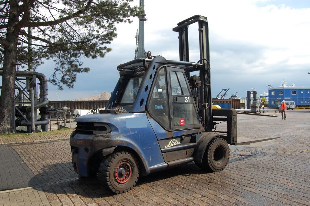 Linde H80D-900/03 Diesel Forklift