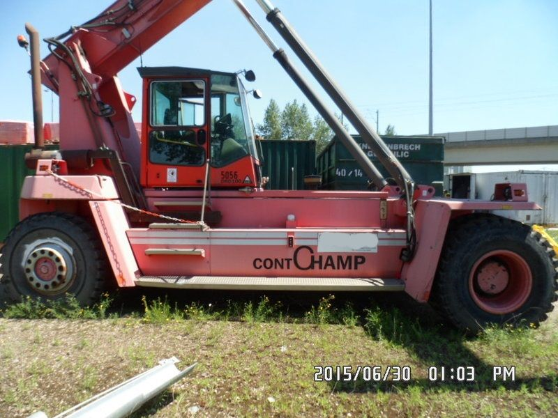 Kalmar DRD100-52S6 Empty Container Reachstacker