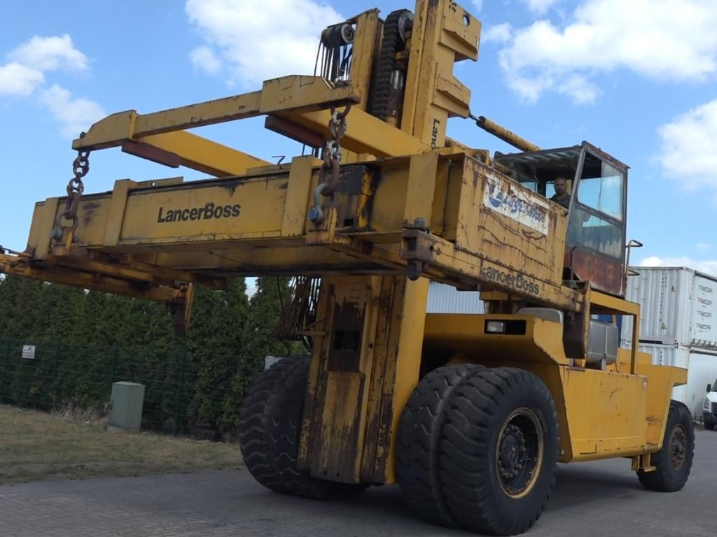 Lancer-Boss G4212CH/MKIVA-2 Full-container handler www.hinrichs-forklifts.com