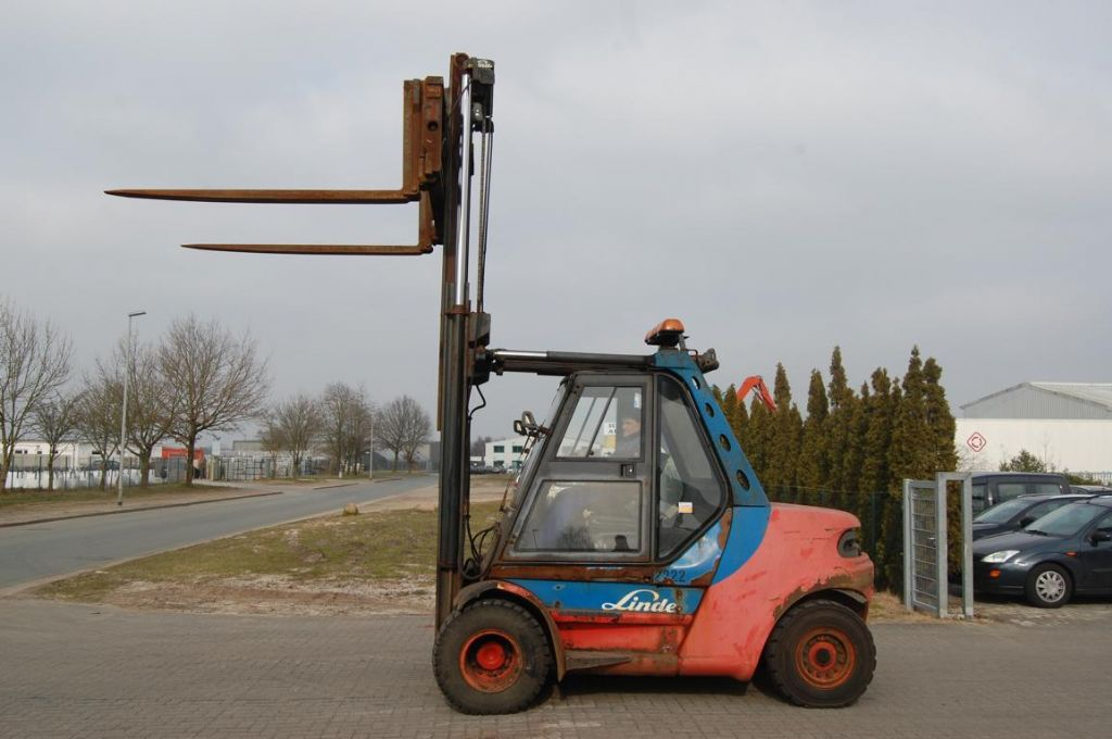 Linde H80D-03 Diesel Forklift
