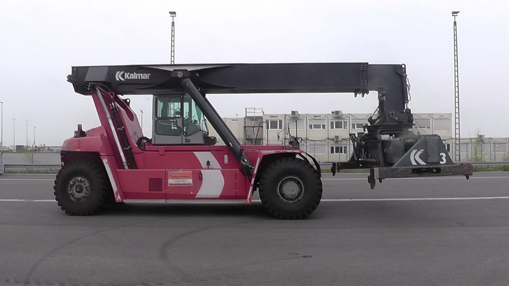 Kalmar DRF420-60S5 Full-container reach stacker www.hinrichs-forklifts.com