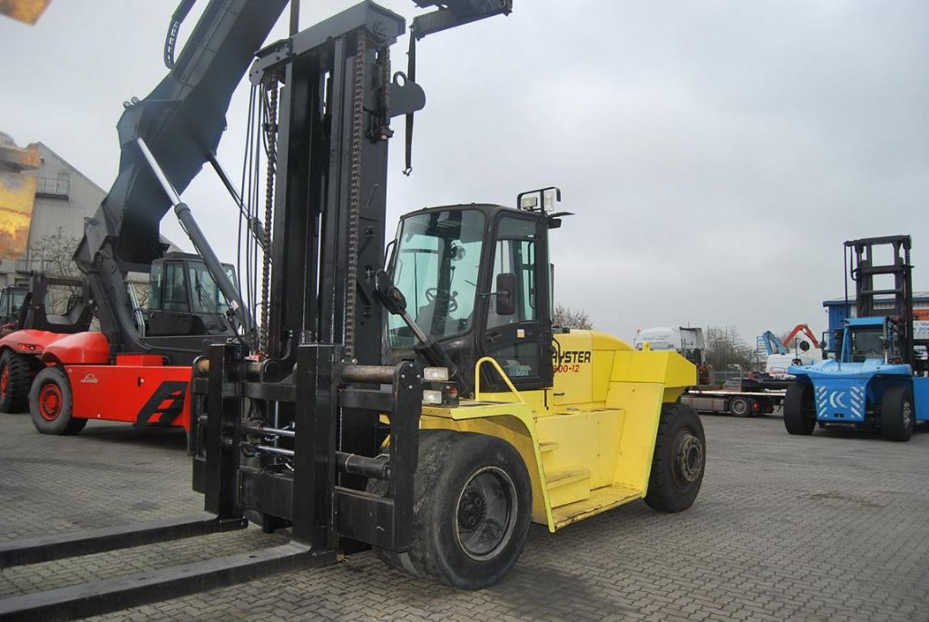 Hyster H18.00XM-12 Heavy Forklifts www.hinrichs-forklifts.com