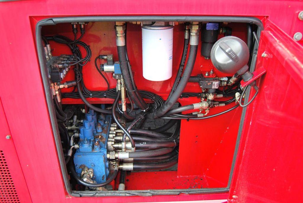 CVS Ferrari F258.6 Empty Container Reachstacker