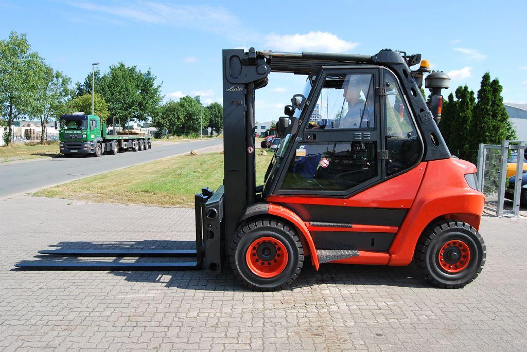 Linde H80D-01 Diesel Forklift www.hinrichs-forklifts.com