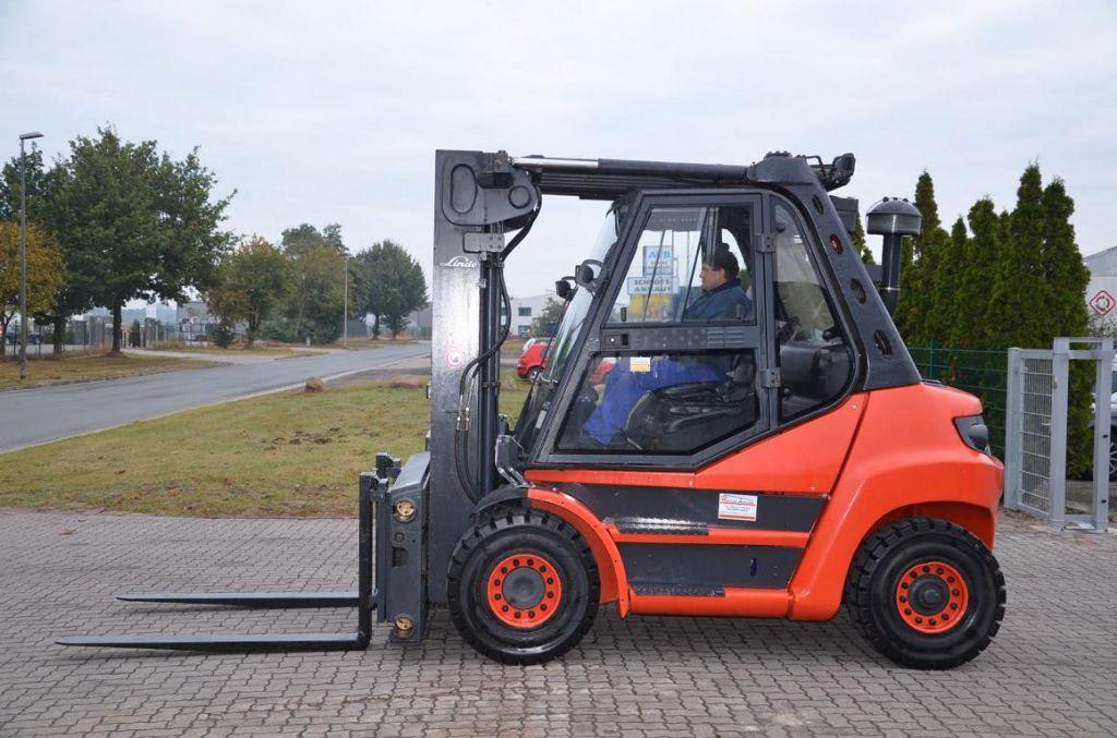 Linde H70D-01 Diesel Forklift www.hinrichs-forklifts.com