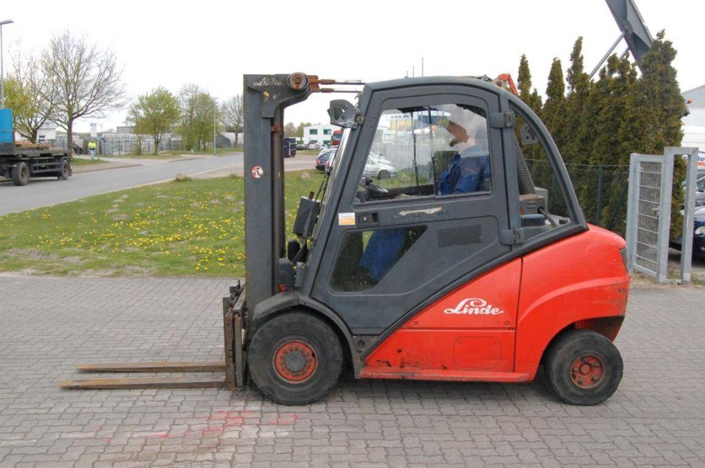Diesel Gabelstapler-Linde-H35D
